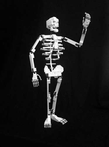 Lego Skeleton, Final Build | by Clay Morrow