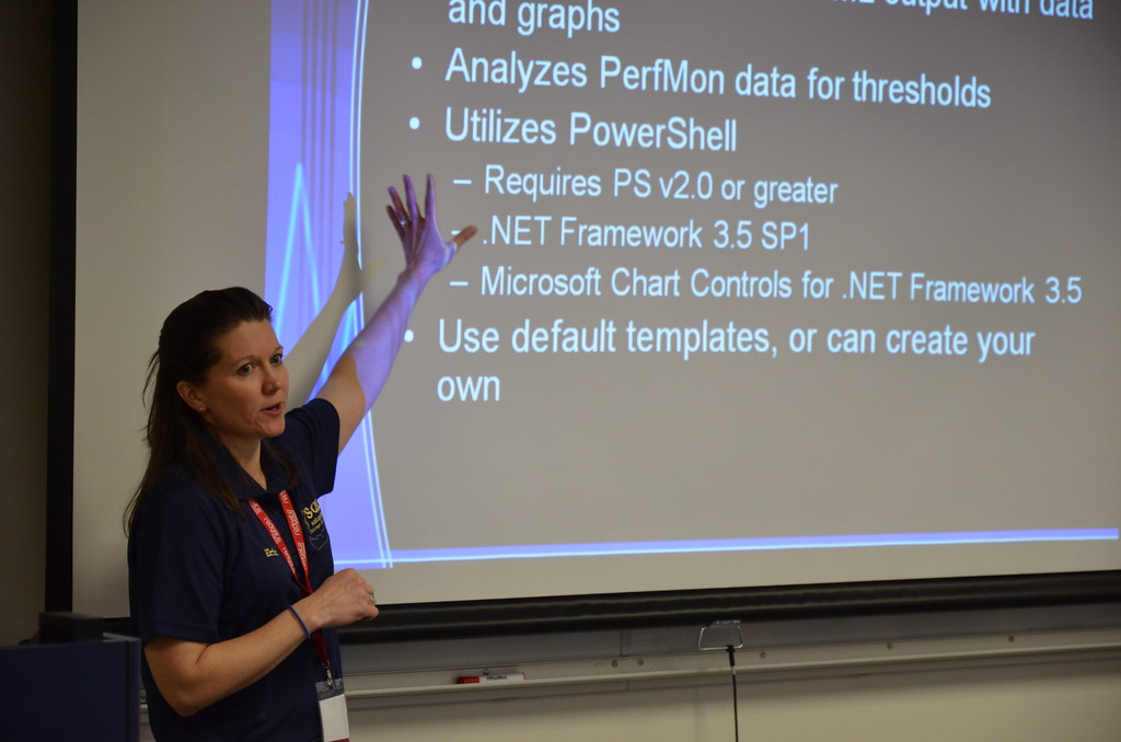 Sql Server Data Type Conversion Chart: Erin Stellato | Erin Stellato presenting Baselines First Tu2026 | Flickr,Chart