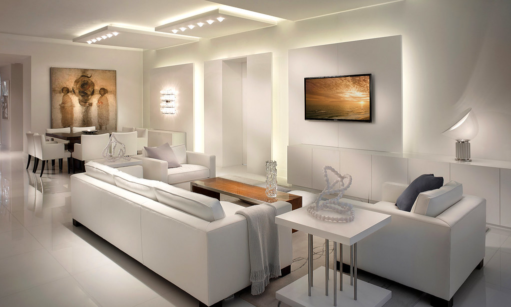 Attrayant ... Architectural Interior Design Boca Raton Modern Living | By Grossman