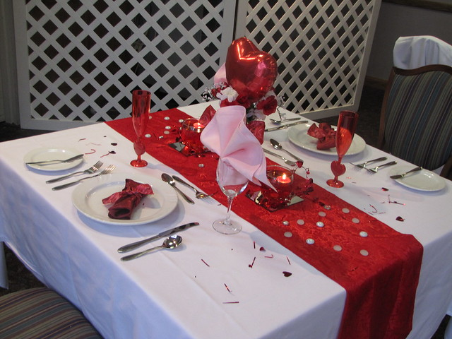 ACA Budget-friendly Table Settings-Valentine\'s Day | Flickr