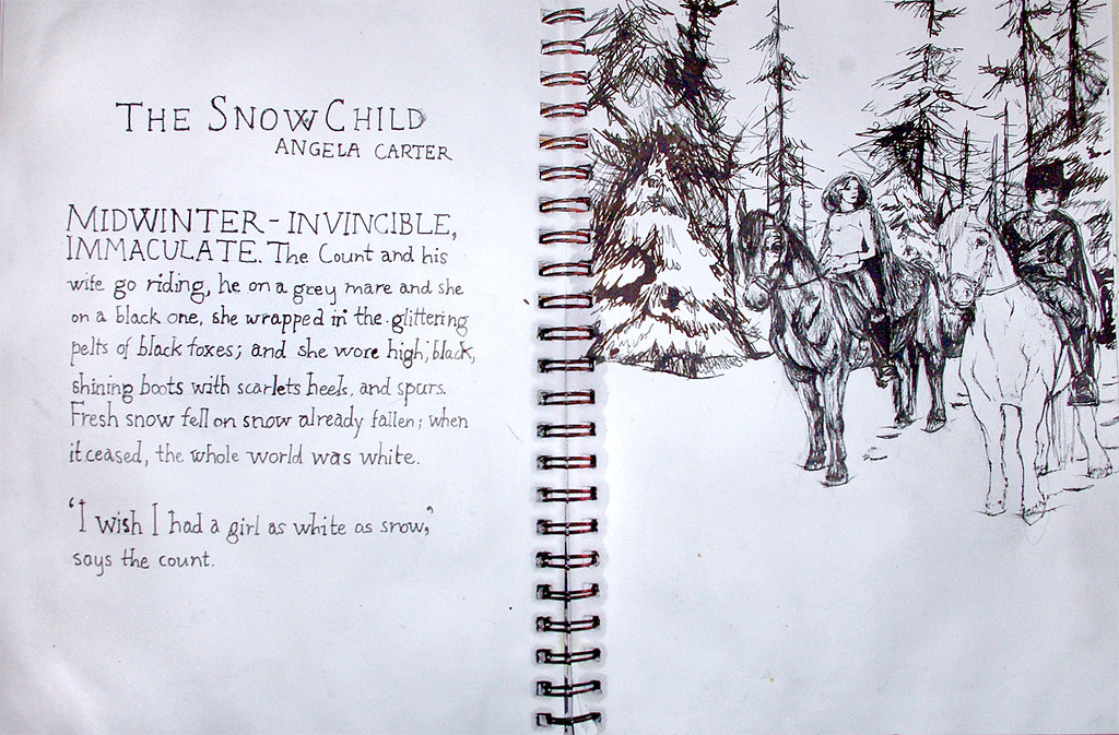 the snow child angela carter
