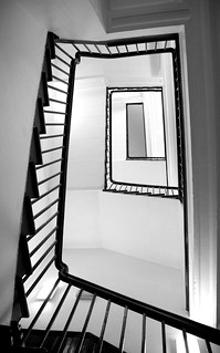 leeds night light STAIRCASE B/W | by siandara
