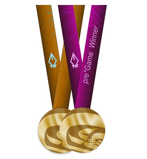 pregame gold purple standard | by *Game Challenge Medals