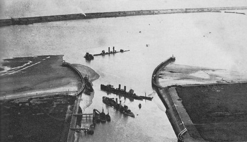 Aftermath of the Zeebrugge raid | by Watson class