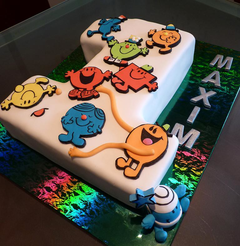 Mr Men Birthday Cake Julie Flickr
