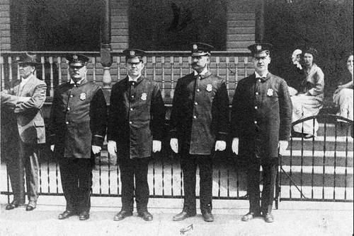 North Bergen police circa 1900 | by LennyNJ