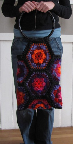 granny square bag 2 | by Mad Ox Designs