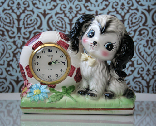 vintage puppy clock | by duckyhouse