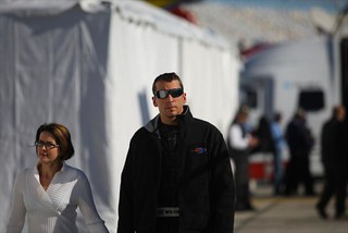 Justin Wilson heads to his pit box to start his final stint in the race | by IndyCar Series