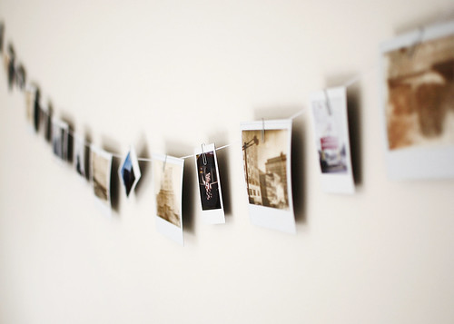 Polaroid Clothesline | by SOMETHiNG MONUMENTAL