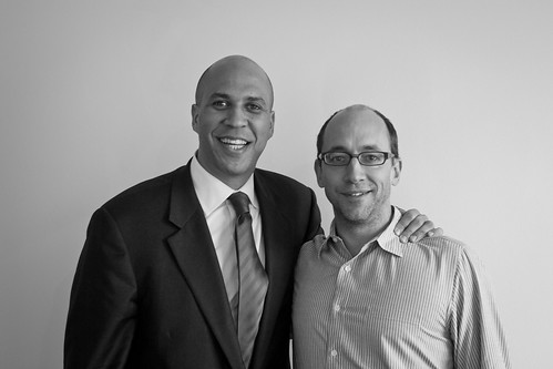 Visitor: Cory Booker (Archive) | by @Twitter