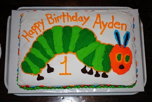 Hungry Caterpillar Cake Topper Australia
