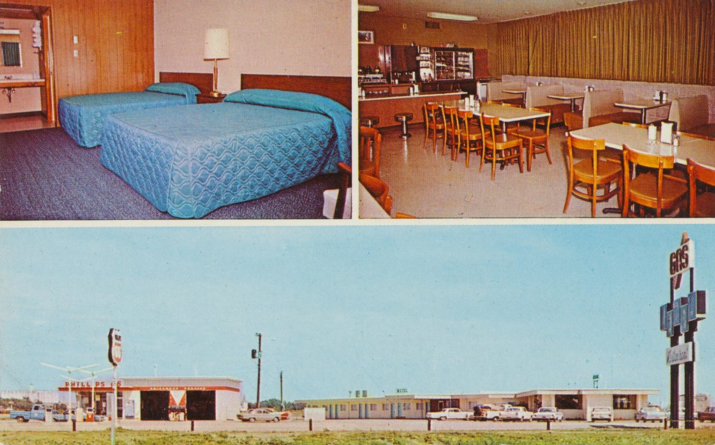 Q-Motel and Restaurant - Quinter, Kansas