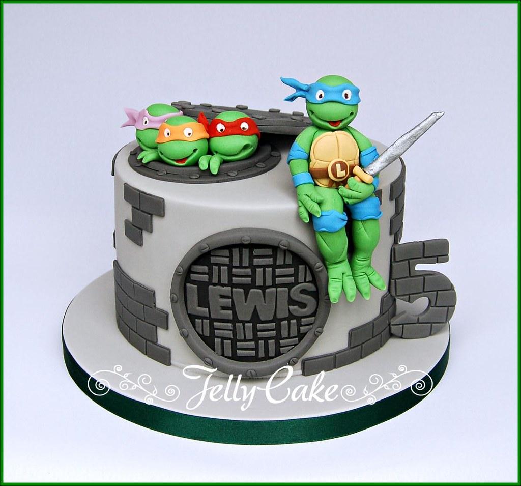 Teenage Mutant Ninja Turtles Birthday Cake A TMNT birthday Flickr