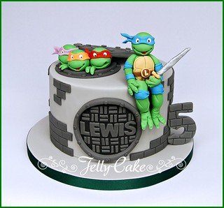 Teenage Mutant Ninja Turtles Cake Pan Uk