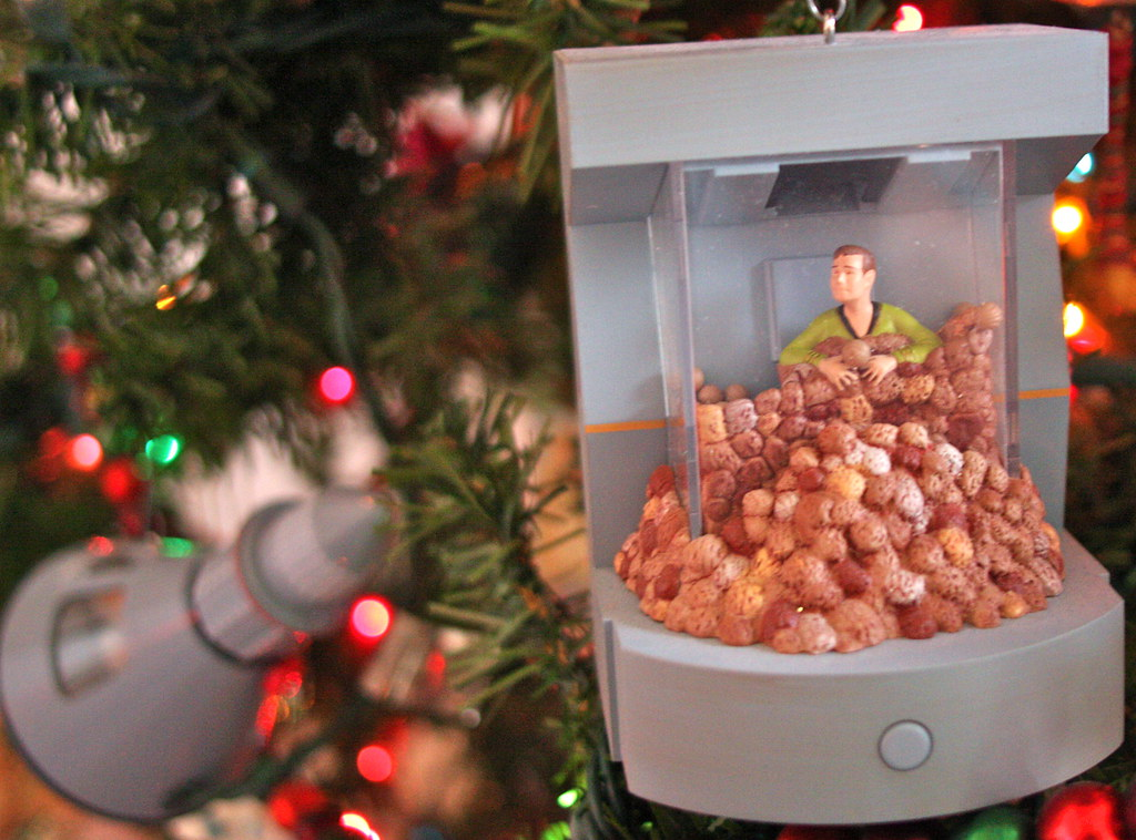 Christmas decorations 2009 - Star Trek: Trouble with Tribb… | Flickr