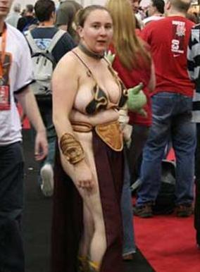 Fat princess leia