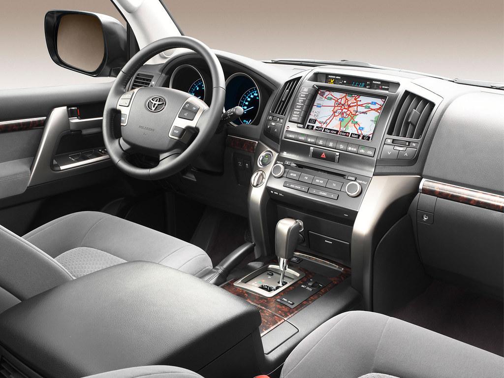 ... Toyota Land Cruiser V8 2011 Interior   by Toyota Motor Europe