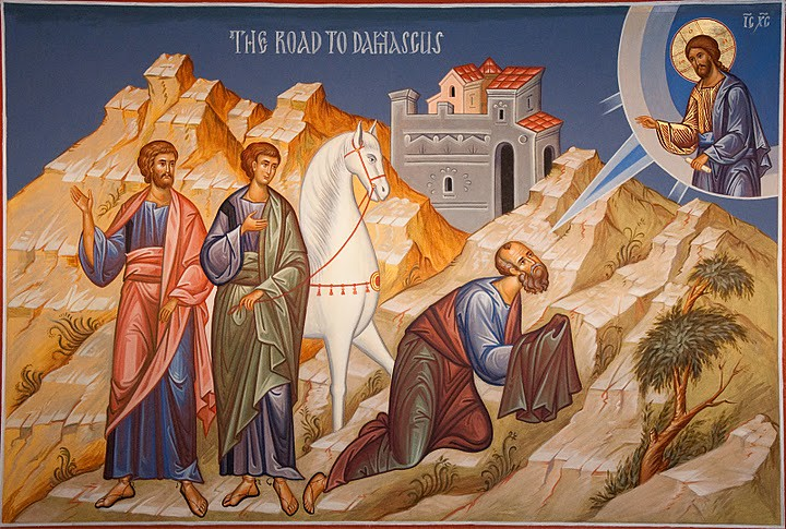 Image result for Photo st. Paul on the road to damascus