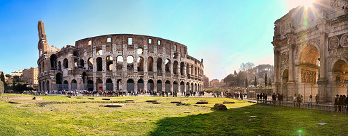 rom :: panorama colosseum IV | by hjjanisch