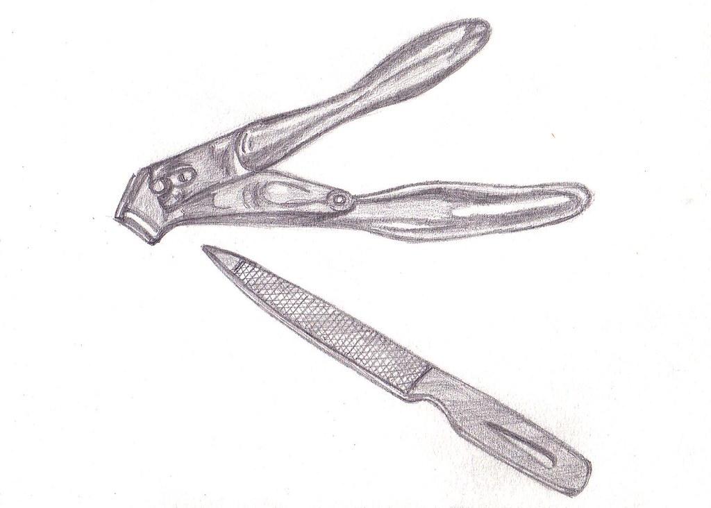 My Drawing Nail Clipper File