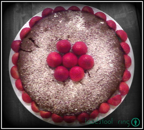 Chocolate-Strawberry Torte | by toadstool ring