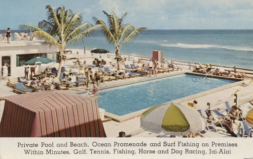 Blue Mist Resort Motel - Miami Beach, Florida | by The Cardboard America Archives