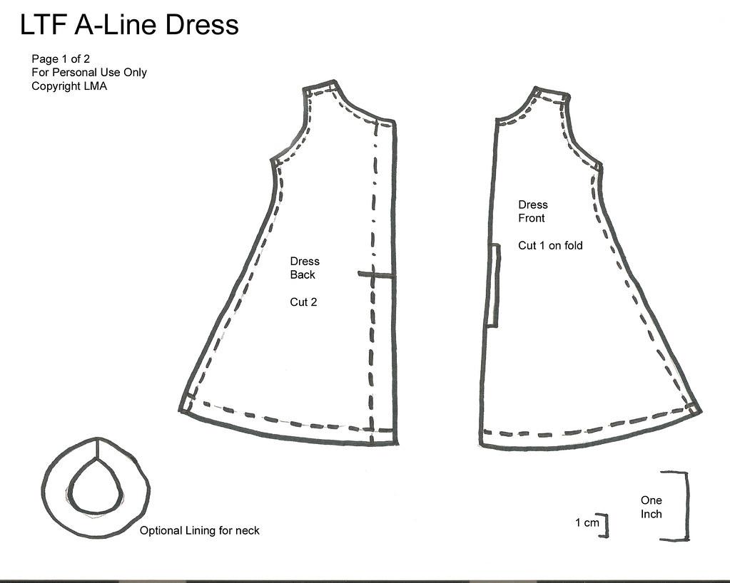 A Line Dress Sewing Patterns