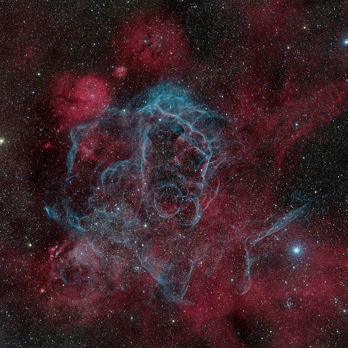 Vela Supernova Remnant | by marcolorenzi70