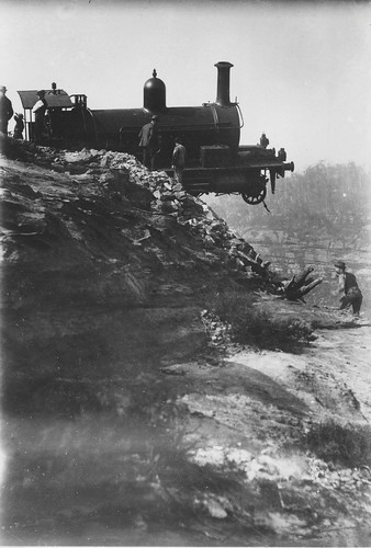 Derailment on the Zig Zag railway | by NSW State Archives and Records