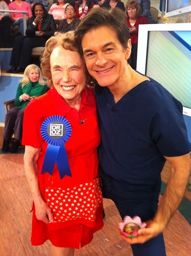 Marjorie on Dr. Oz 2/28/2011 | by blueribbon2k