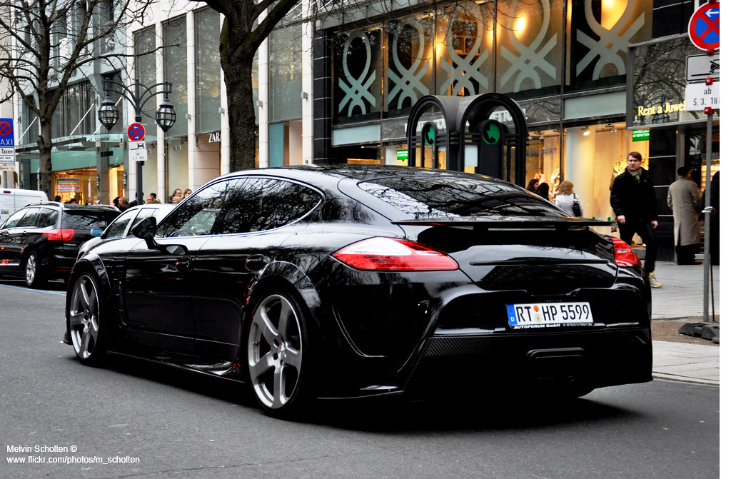 By Melvin Scholten Porsche Panamera Mansory C One Anderson Tuning