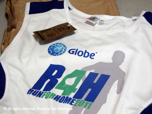 Globe Run for Home 2011 singlet | by kutitots