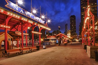 Navy Pier at Blue Hour | by Chris Smith/Out of Chicago