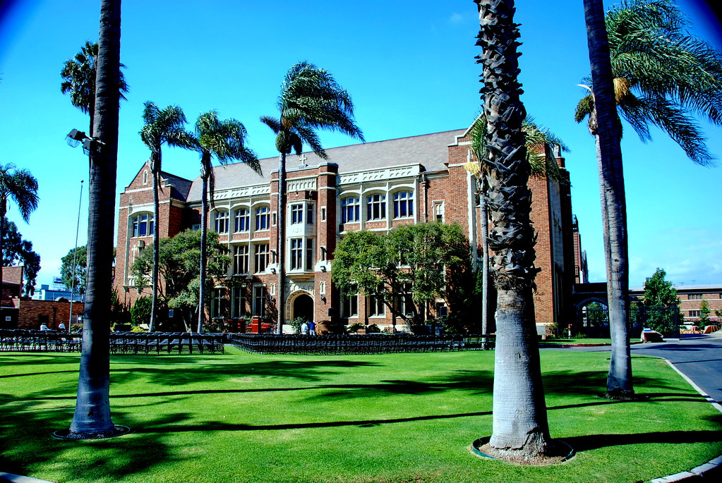 ... Loyola High School Of Los Angeles, Albert C. Martin, Architect 1918 | By