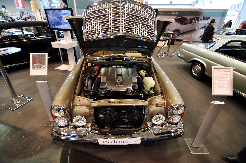 Techno Classica 2011 – Modern engine in an old car | Flickr