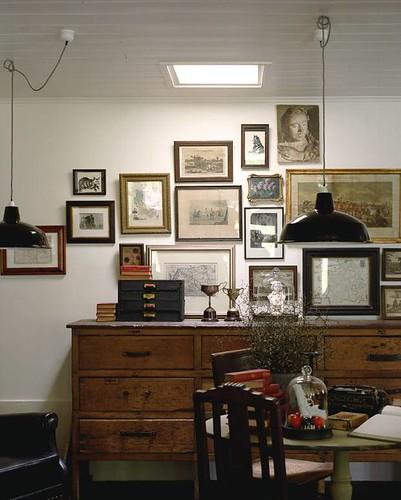 Modern Industrial Dining Room: Lynda Gardener {eclectic Vintage Industrial Modern Dining