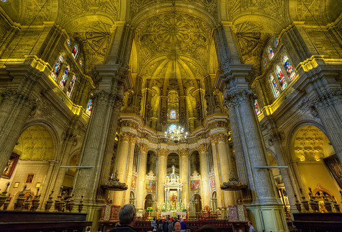 Interior Cathedral – Catedral de Málaga (Spain), HDR | by marcp_dmoz