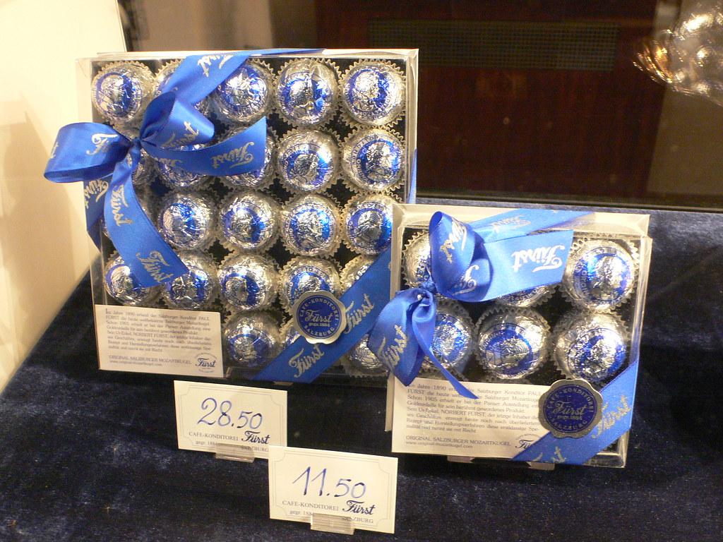 Furst Mozartkugel chocolates