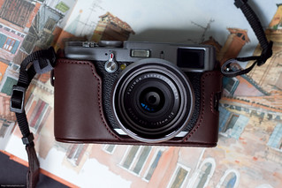 Fujifilm X100 with Leather Case (FLC-X100) | by Daisuki Photo