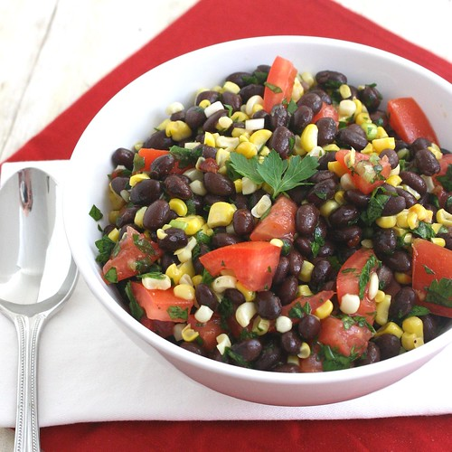 Southwestern Black Bean Salad | by Tracey's Culinary Adventures