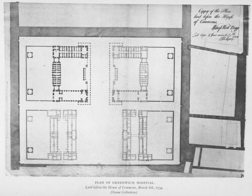 Royal Hospital Greenwich: Plan | by Penn State Libraries Pictures Collection