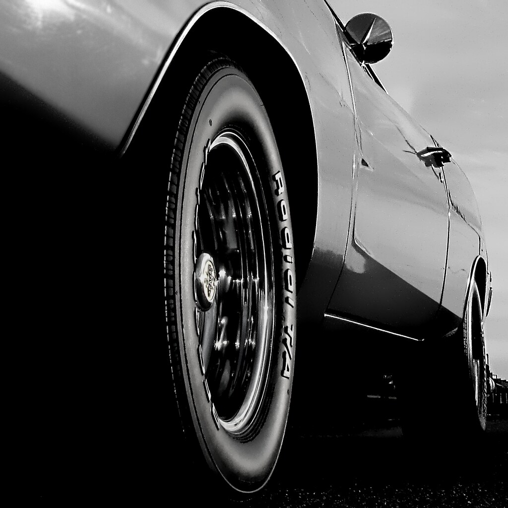1968 Dodge Charger R T Avatar Radial A Black White Flickr