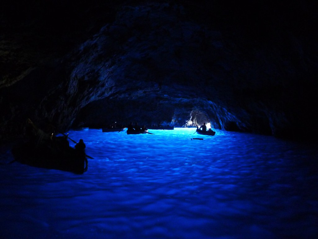 Image result for blue grotto caves italy