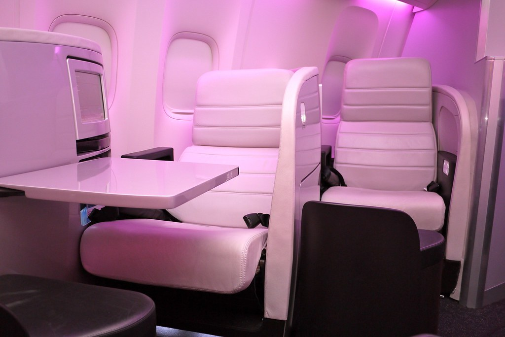 Air New Zealand 77W Business Premier Cabin