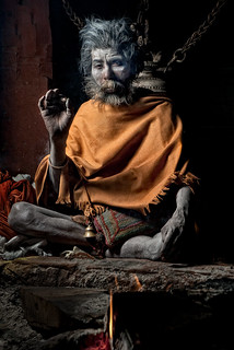 Sadhu Meditating | by Jesse Estes
