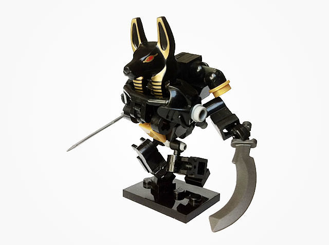 LEGO PHARAOH'S QUEST - ANUBIS GUARD FIGURE   FREE SWORD &amp ...