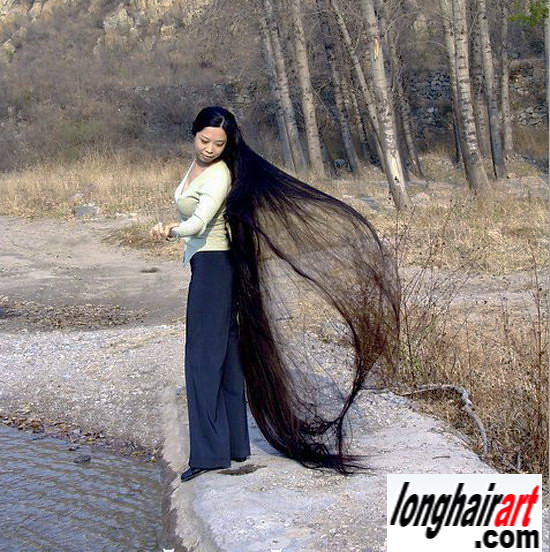 3 Long Hair Girl Long Hair Lady Long Ponytail Longest Hair Flickr