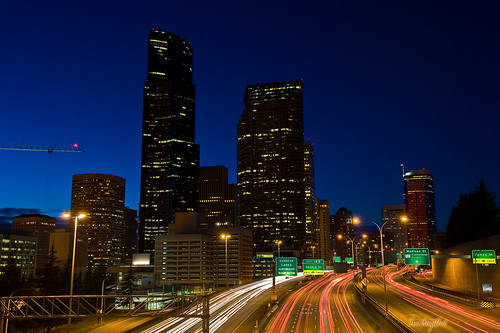 Columbia Center and downtown skyline from Yesler Avenue | by Tom Ringold