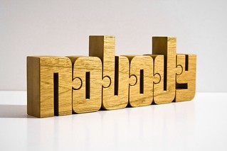 nobody - 'Put yourself into the work and nobody else' Nuzzles™ set | by nuzzlesbyjohn